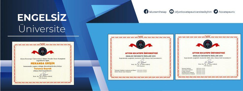 Engelsiz Üniversite Ödülü
