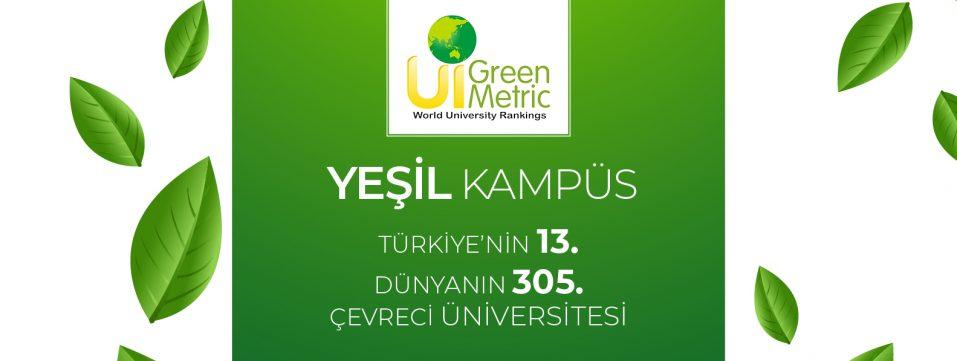Üniversitemiz GreenMetric başvurusu sonuçlandı…